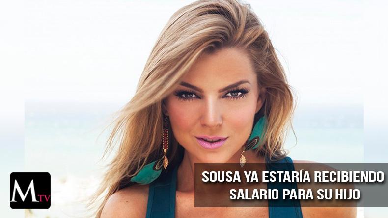 Marjorie de Sousa ya estaría recibiendo salario de su hijo.