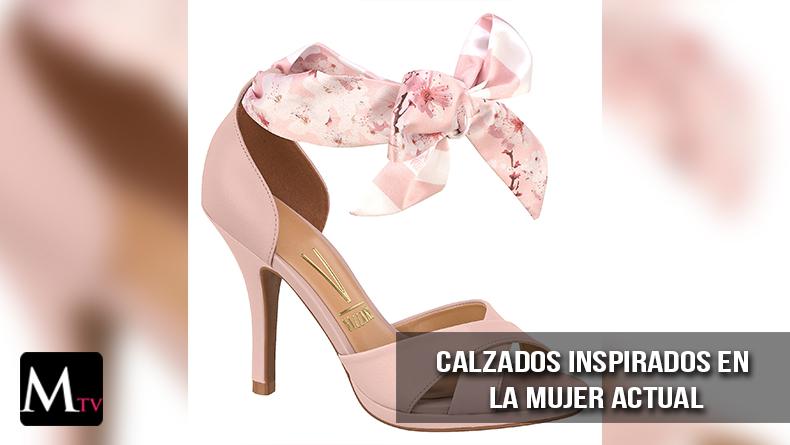 Moda de zapatos, inspirado en la mujer actual.