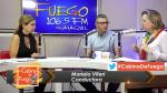 CABINA DE FUEGO – DRA. NADIA DONADONIBUS Y TEOTERAPISTA RONNY CABEZA