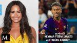 Demi Lovato y Neymar  ¿estarían juntos?
