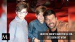 Hijo de Ricky Martin le da una lección de vida.