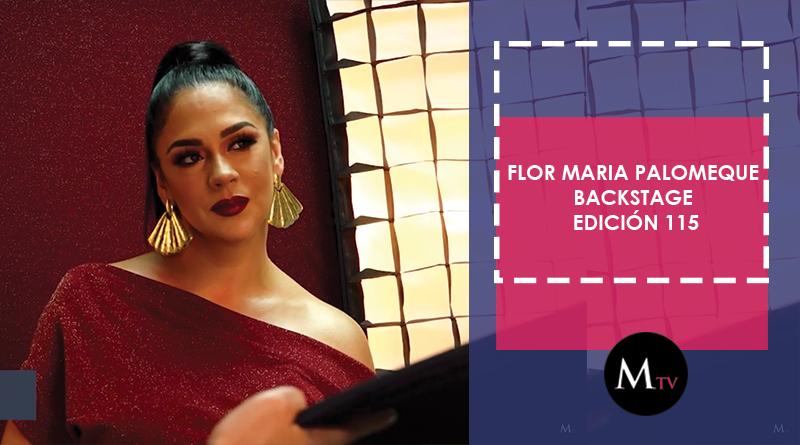 Flor María Palomeque – Backstage Portada Edición 115
