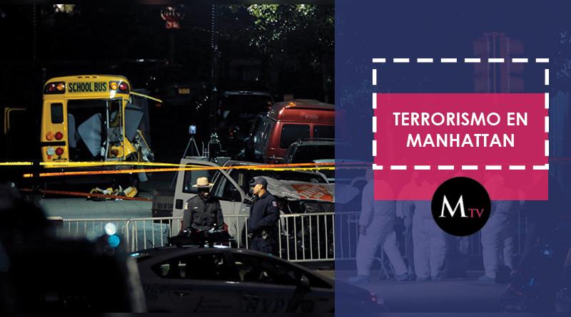 Un nuevo atentado en Manhattan