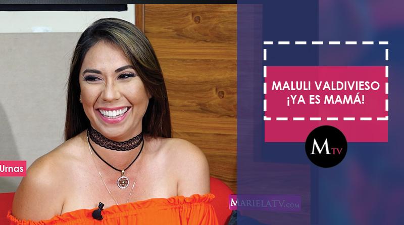 Maluli Valdivieso se convierte en madre por 5ta vez