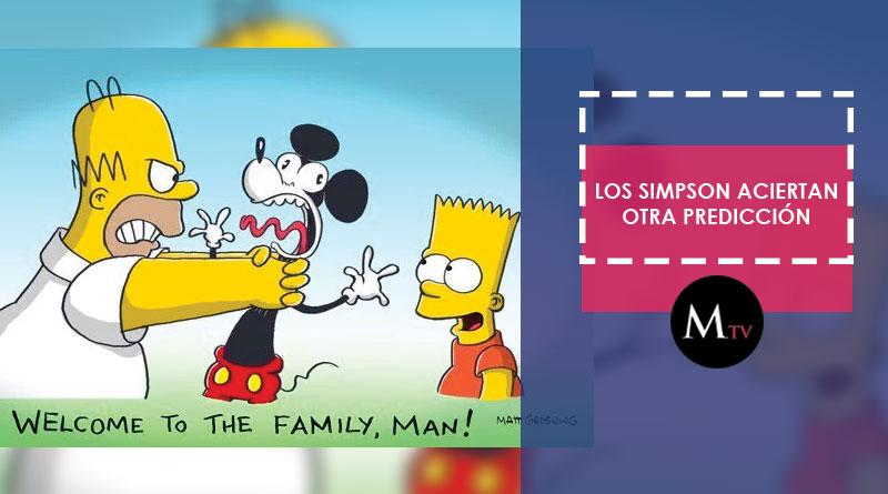 Los Simpson volvieron a hacer otra predicción, esta vez con la compañía Disney