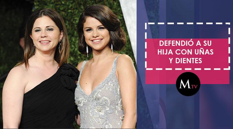Madre de Selena Gomez, explotó en las redes sociales