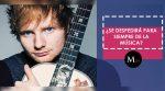 Ed Sheeran ¿Se despide de la música?