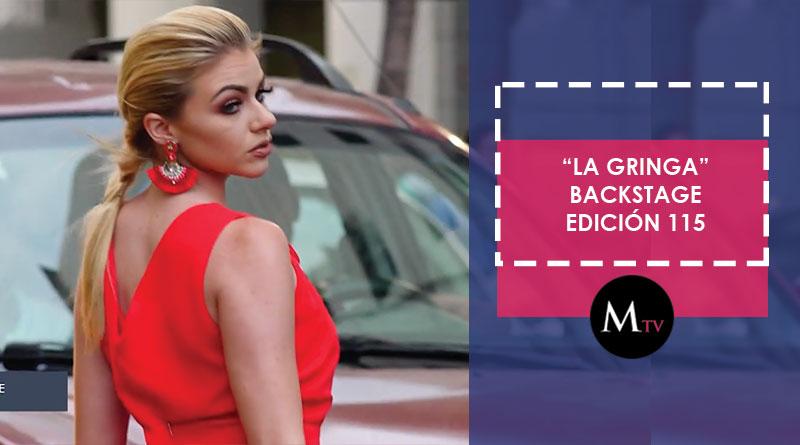 La Gringa – Backstage Revista Mariela Edición 115