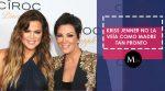 La madre de Klhoe Kardashian pensó que ella jamás podría ser mamá