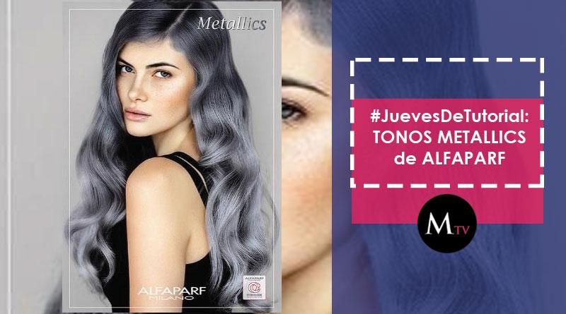 #JuevesDeTurial: para aplicar los tintes METALLICS SILVER de ALFAPARF