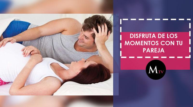 ¡Sexualmente activa durante el embarazo!