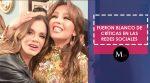 Lucía Méndez y Thalia han sido la burla en las redes sociales