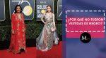 Las celebridades que NO decidieron vestir de negro en el Golden Globe