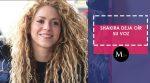 Shakira deja escuchar su voz en medio de su estado de salud