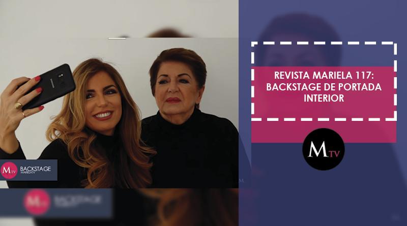 Revista Mariela: Edición 117 – Backstage de Portada Interior