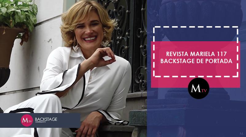 Revista Mariela: Edición 117 – Backstage de Portada