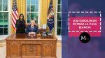 Kim Kardashian y Donald Trump tuvieron una amena conversación
