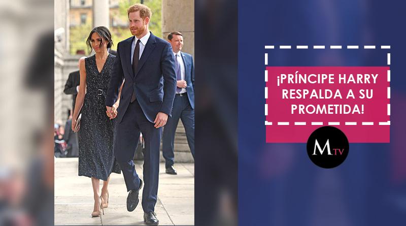 El Príncipe Harry busca la mejor forma de proteger a su prometida en sus momentos difíciles