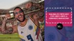 Maluma es criticado al publicar video junto a Maradona