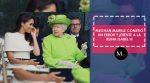 Meghan Markle comete un error de protocolo en presencia de la reina
