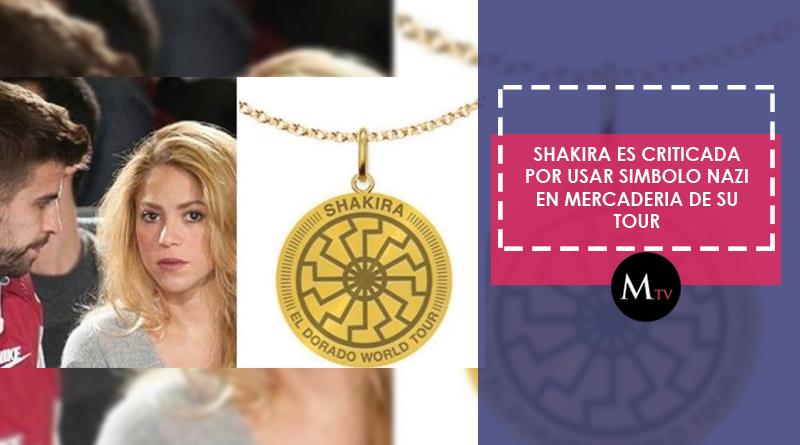 Shakira en polémica por símbolo nazi utilizado en su gira