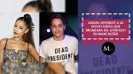Ariana Grande defiende a su novio luego de bromear sobre atentado