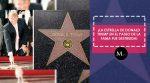 La estrella de Donald Trump fue hecha pedazos por un hombre