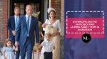 El principe Louis fue bautizado y la reina Isabel II y brilló por la ausencia