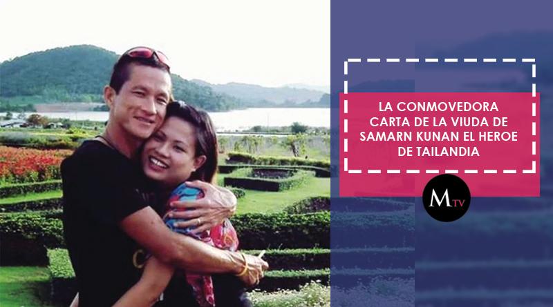 La carta de la viuda de Samarn Kunan: el buzo que murió ayudando a niños atrapados en Tailandia