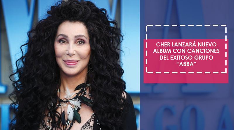 """Cher lanzará un nuevo album con los exitos de la banda """"ABBA"""""""