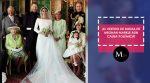 Meghan Markle decide ponerle un fin a los comentarios sobre su vestido de boda