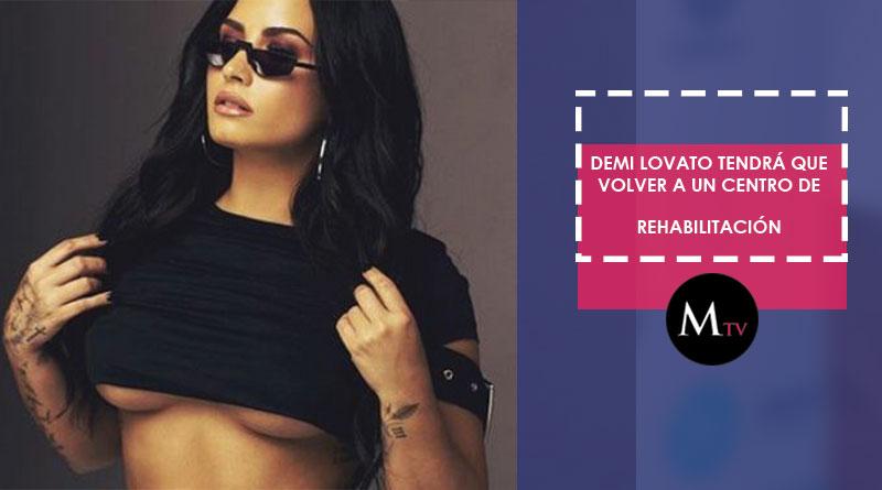 Demi Lovato recibirá el alta del hospital y deberá rehabilitarse