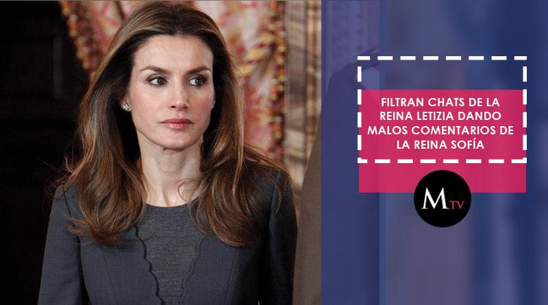 Se filtran supuestos chats de la Reina Letizia hablando sobre la Reina Sofía