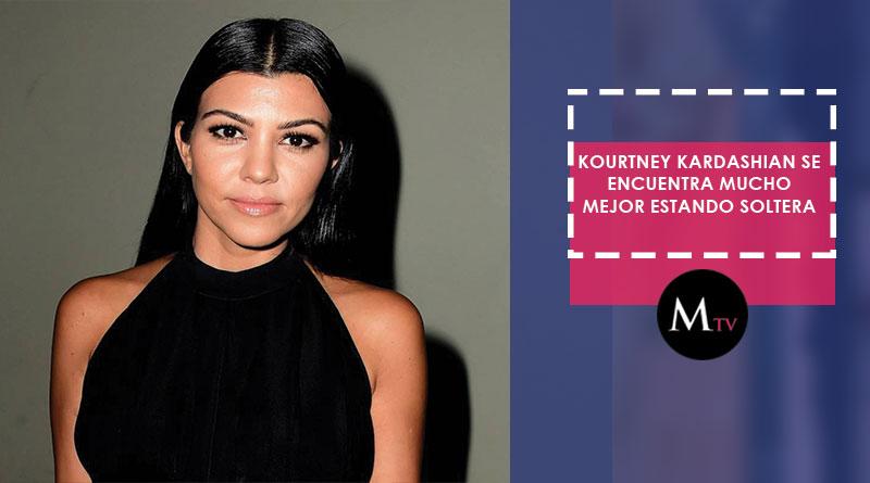 Kourtney Kardashian disfruta de su vida después de su separación