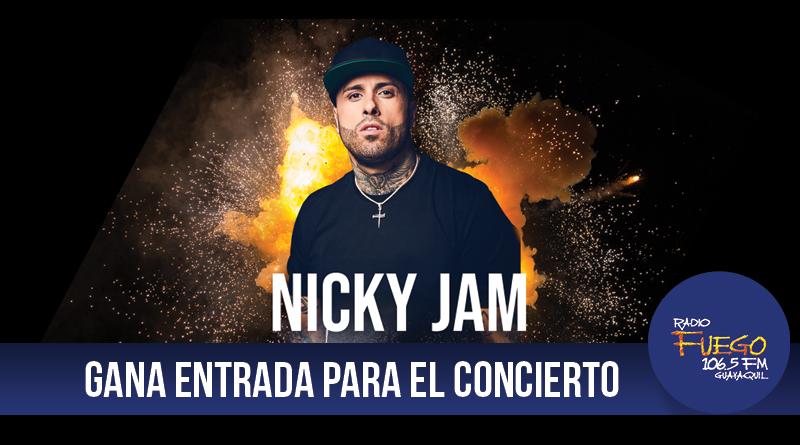 GANA ENTRADAS PARA EL CONCIERTO DE NICKY JAM