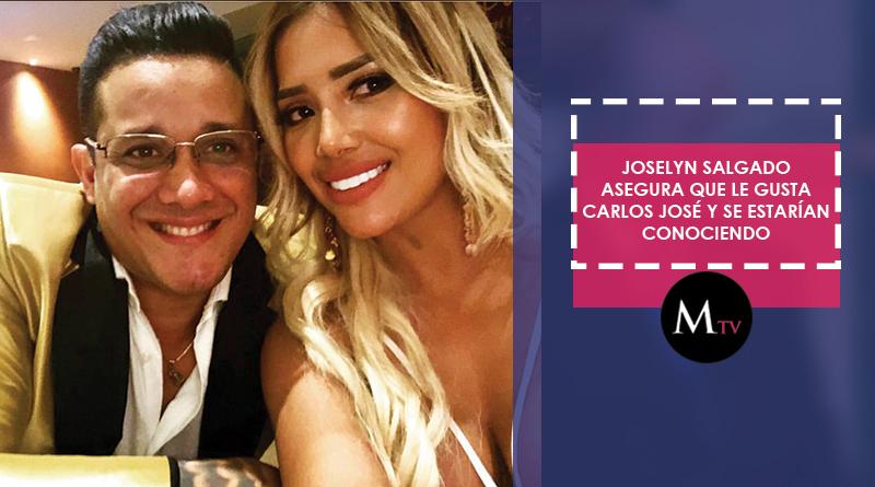 ¿Carlos José Matamoros y Josselyn Salgado tendrán un amorío?