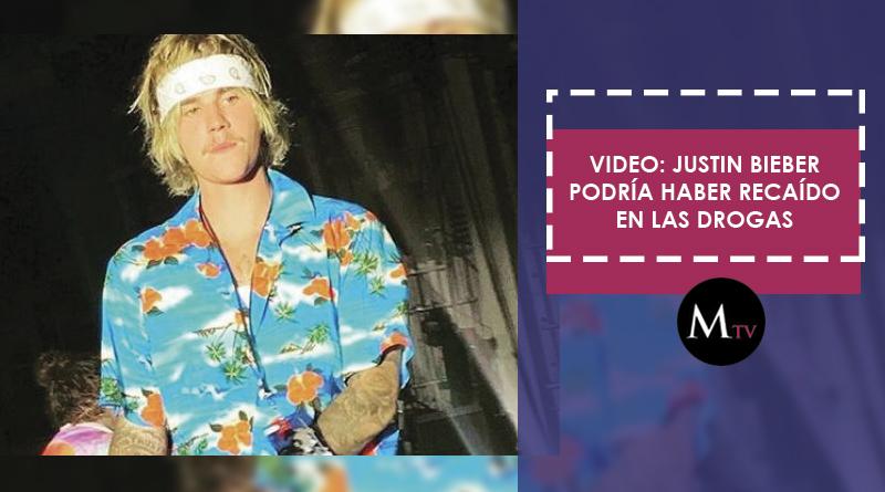 Video: Justin Bieber podría haber recaído en las drogas