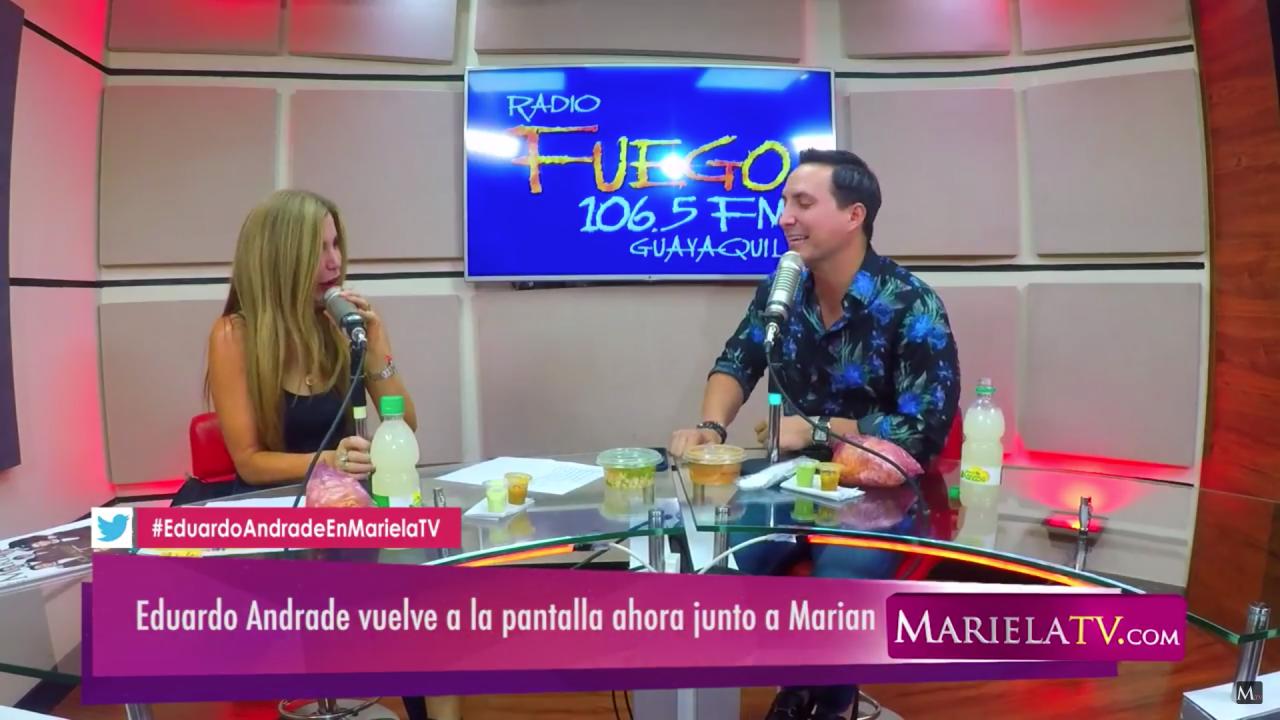 Eduardo Andrade: el fin de Combate y nuevos proyectos – Miércoles de MarielaTV