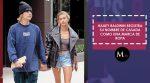 Hailey Baldwin registra su nombre de casada como una marca de ropa