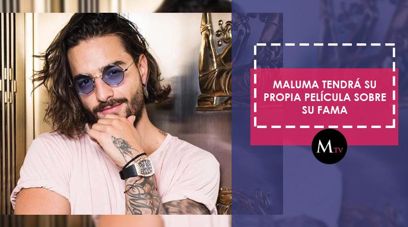 Maluma tendrá su propia película sobre su fama