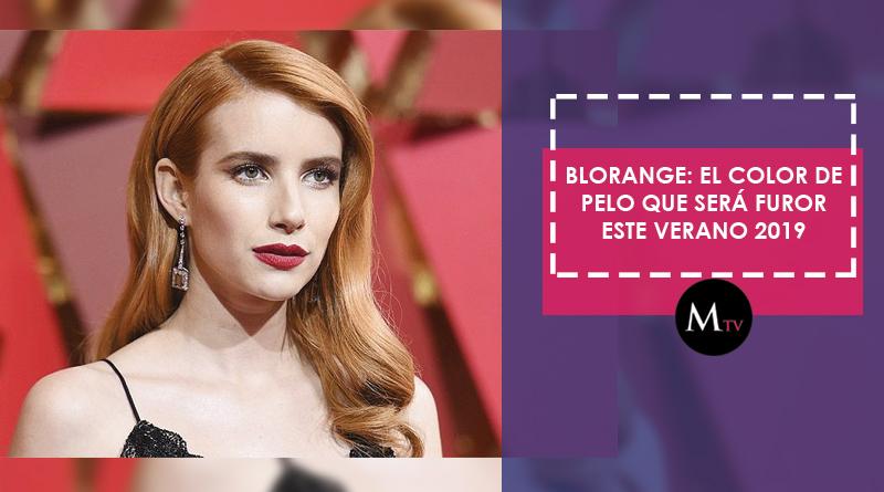 Blorange: El color de pelo que será furor este verano 2019