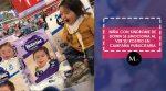 Niña con síndrome de Down se emociona al ver su rostro en campaña publicitaria