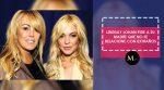 Lindsay Lohan pide a su madre que no se relacione con extraños