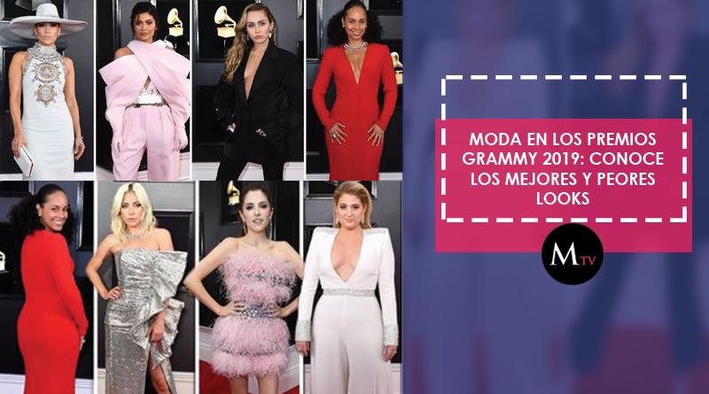 Moda en los premios Grammy 2019: conoce los mejores y peores looks