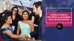 Yalitza Aparicio recorrió la alfombra roja de los Oscars junto a su mamá