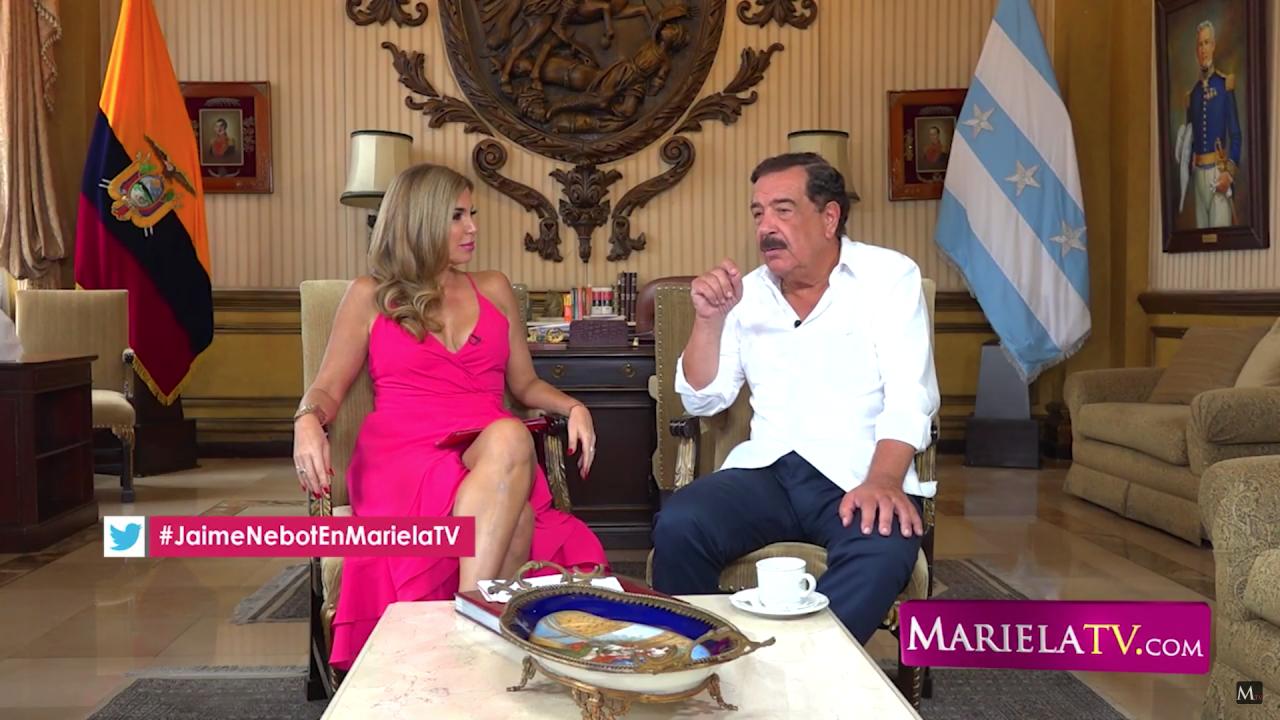 ¡EN EXCLUSIVA! el alcalde de Guayaquil, Jaime Nebot, lo revela todo