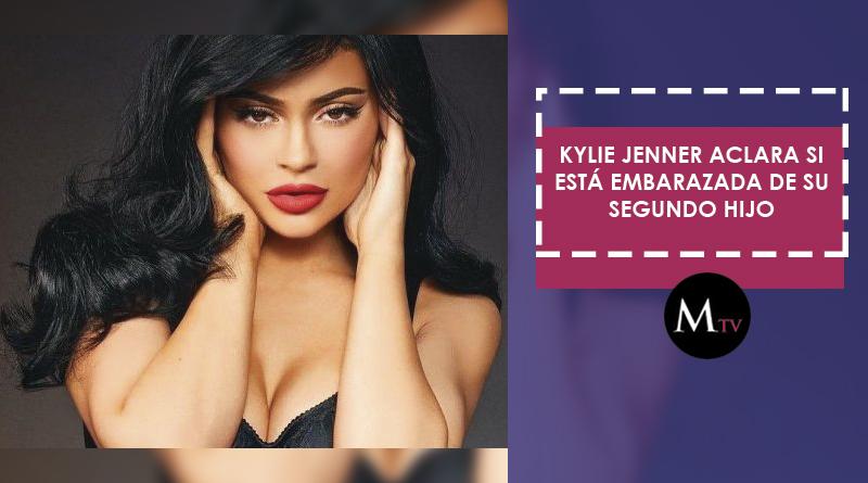 Kylie Jenner aclara si está embarazada de su segundo hijo