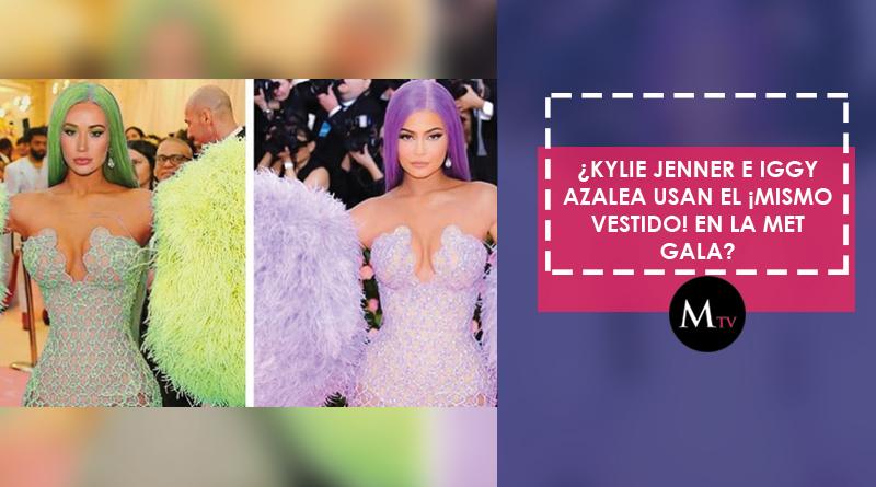 Kylie Jenner E Iggy Azalea Usan El Mismo Vestido En La Met