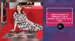 Anne Hathaway es premiada con su estrella en el Paseo de la Fama