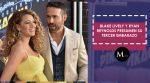 Blake Lively y Ryan Reynolds presumen su tercer embarazo